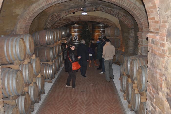tuscany wine cellar