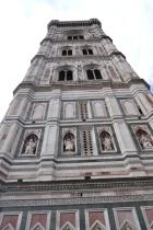 Giotto's bell tower , Basilica di Santa Maria del Fiore, il duomo, Florence
