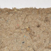 Handmade paper - eucalyptus twigs, bark and leaves, recycled paper
