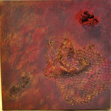Evolving: Mixed Media on Canvas