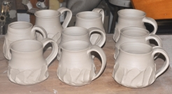finished cups!