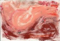 Reclining Nude - Pastel on Handmade paper