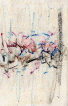 Abstract - Wax on Handmade paper
