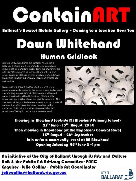 New Solo Exhibition : Human Gridlock