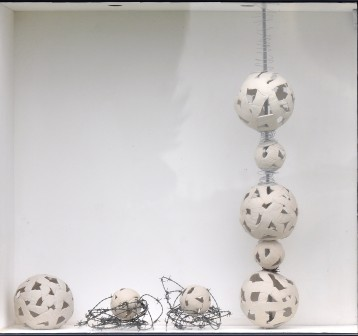 """Space for Memories"" $610.00 - POA for individual components of this installation or custom sculpture orders"