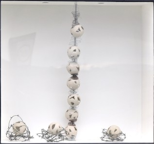 """Pristine Memories"" $610.00 - POA for individual components of this installation or custom sculpture orders"