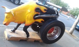 Hot Rod Cow