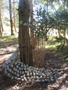 Wheelthrown & Manipulated Stoneware Volcanic Glaze