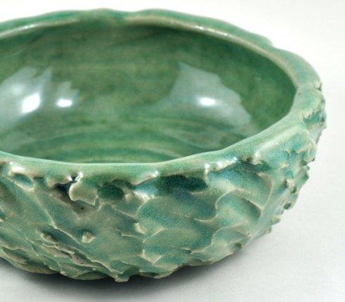 Ceramic Textured Bowl