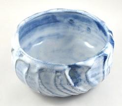 Dawn Whitehand Blue Bowl 2