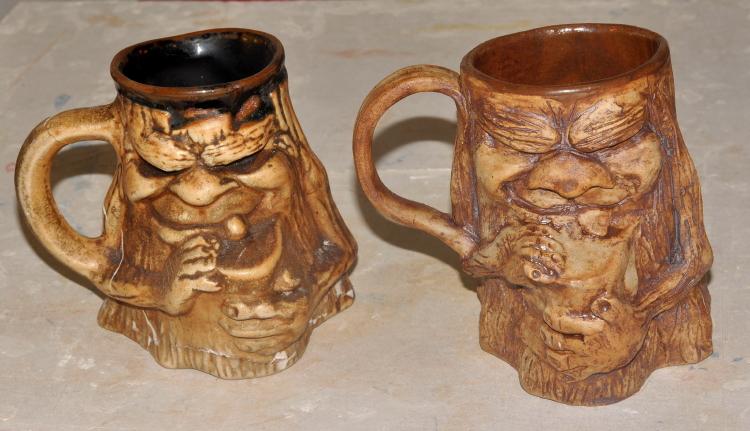 Dawn Whitehand Grotesque Mug