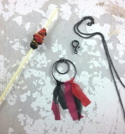 Fabric Bead Jewellery