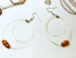 DeeDeeDeesigns Guitar String Earrings