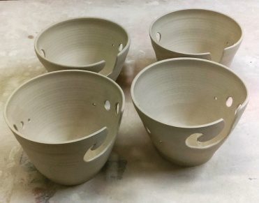 Dawn Whitehand Yarn Bowls