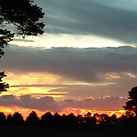 Dawn Whitehand Sunset Dunnstown