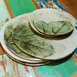 Dawn Whitehand - pumpkin plates