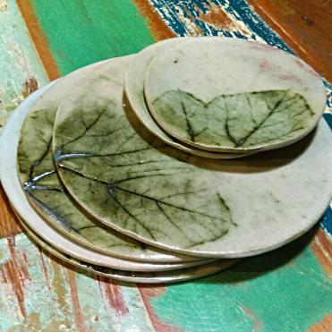Dawn Whitehand - pumpkin plates