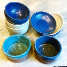 Dawn Whitehand tapas bowls handmade ceramic