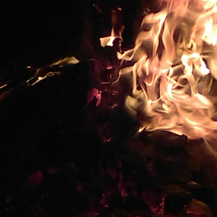 Dawn WHitehand bonfire ceramic firing