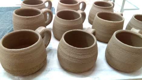 Pottery Coffee Mugs and Pots!