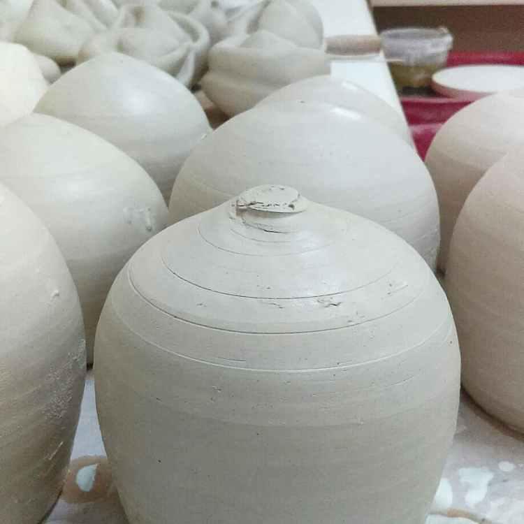 Dawn Whitehand wheelthrown ceramic artwork