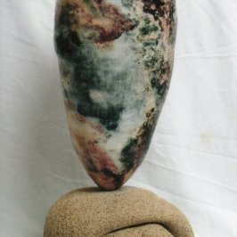 Dawn Whitehand ceramic sculpture