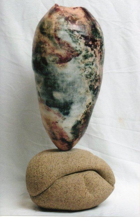 Dawn Whitehand ceramic sculpture