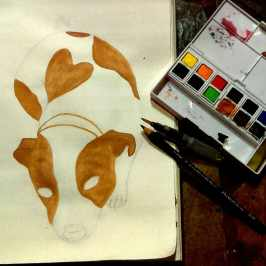 Dawn Whitehand watercolour painting