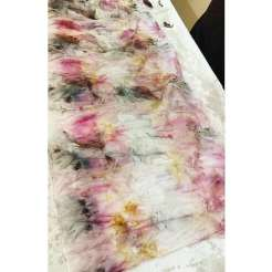 eco dyeing with Dawn whitehand